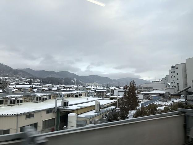 北陸新幹線より長野市 山城群