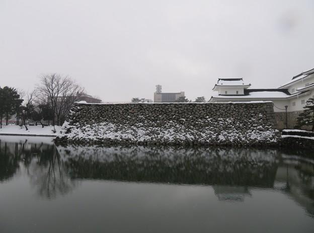 富山城(富山市)内堀 ・多聞櫓