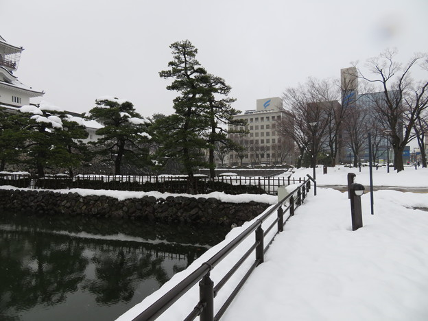 富山城(富山市)内堀 ・二の丸