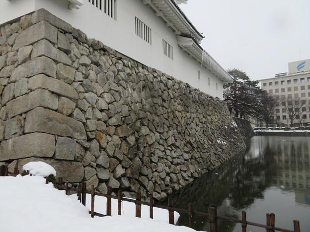富山城(市営富山城址公園)鉄門櫓下