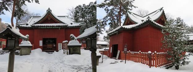 尾崎神社(金沢市)拝殿