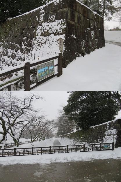 金沢城(石川県営 金沢城公園)裏門