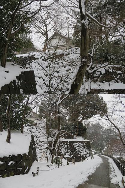 金沢城(石川県営 金沢城公園)いもり坂