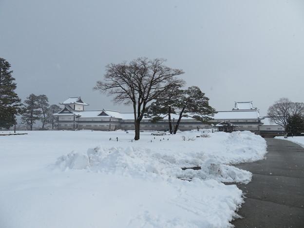金沢城(石川県営 金沢城公園)菱櫓・五十間長屋・橋爪門続櫓