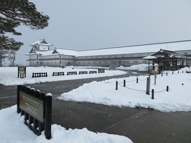 金沢城(石川県営 金沢城公園)菱櫓・五十間長屋