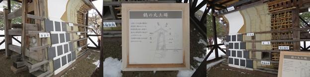 金沢城(石川県営 金沢城公園)鶴丸 ・土塀展示
