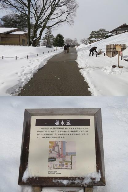 金沢城(石川県営 金沢城公園)橋爪門