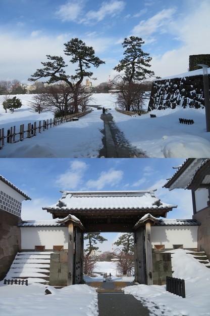 金沢城(石川県営 金沢城公園)河北門・新丸