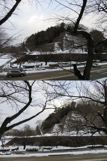金沢城(石川県営 金沢城公園)東丸 辰巳櫓跡