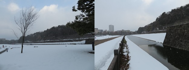 金沢城(石川県営 金沢城公園)いもり堀