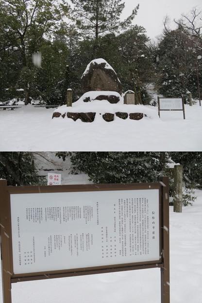 尾山神社(金沢市)まつ像