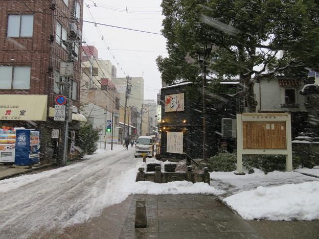 金沢城(金沢市)西内惣構堀跡