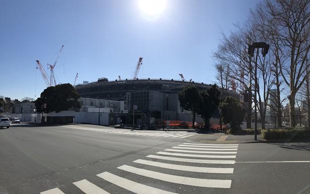 18.02.05.建設中 新国立競技場