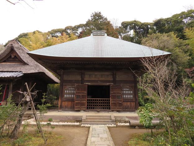 常楽寺(鎌倉市)仏殿