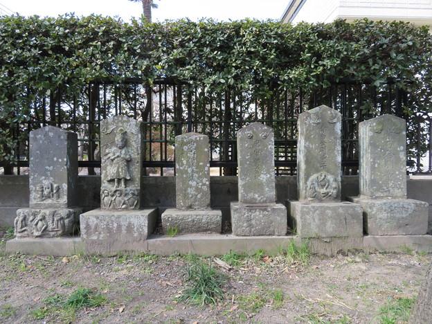 荏柄天神社(鎌倉市)庚申塔