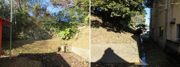 Photos: 多古城/多古陣屋(香取郡多古町)天満宮背後