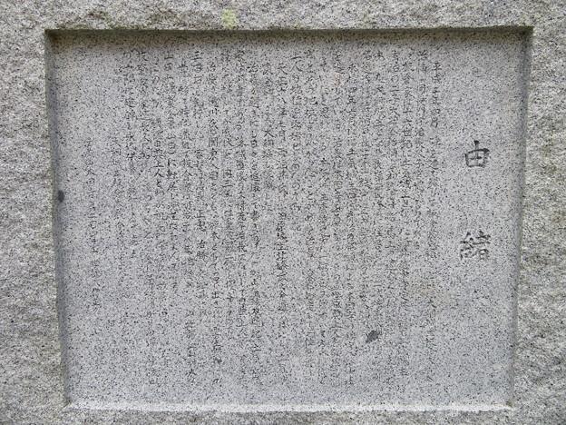 本国寺(大網白里市)板倉長門守家墓所