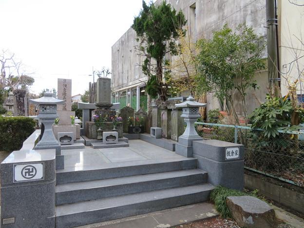 大網陣屋(大網白里市) 寶珠山蓮照寺山門前
