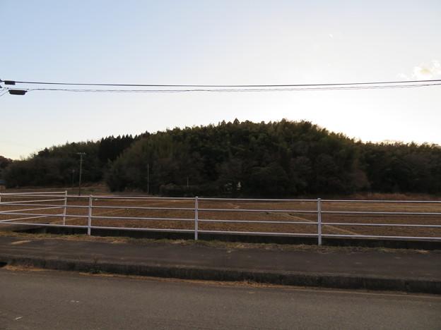 笹子城(木更津市)東