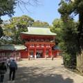 氷川神社(大宮区)楼門