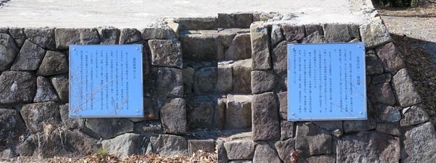滝田城(南房総市)展望台跡