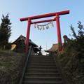 写真: 人見神社(君津市)