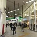 写真: 藤沢駅北口~改札(藤沢市)
