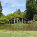 Photos: 丹生都比売神社(かつらぎ町)鏡池・輪橋