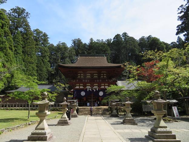 丹生都比売神社(かつらぎ町)楼門
