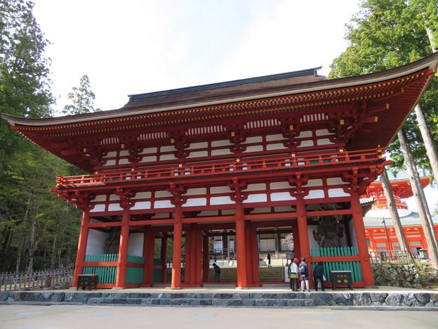 Photos: 高野山壇上伽藍(高野町)中門
