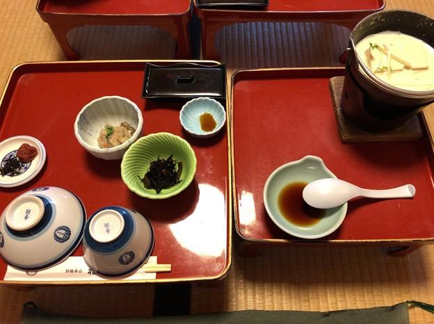 高野山温泉 福智院(高野町)朝食