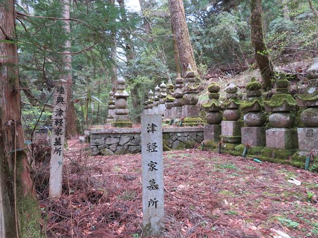 高野山金剛峯寺 奥の院(高野町)陸奥津軽家墓所