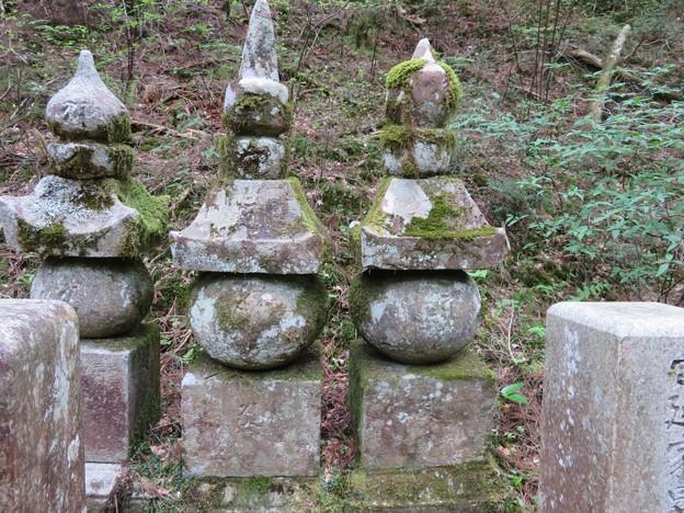 高野山金剛峯寺 奥の院(高野町)小早川隆景夫妻墓