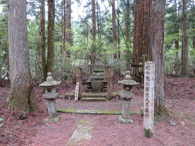 高野山金剛峯寺 奥の院(高野町)紀州徳川家夫人方墓所