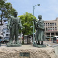 Photos: 秀吉公と石田三成公出逢いの像