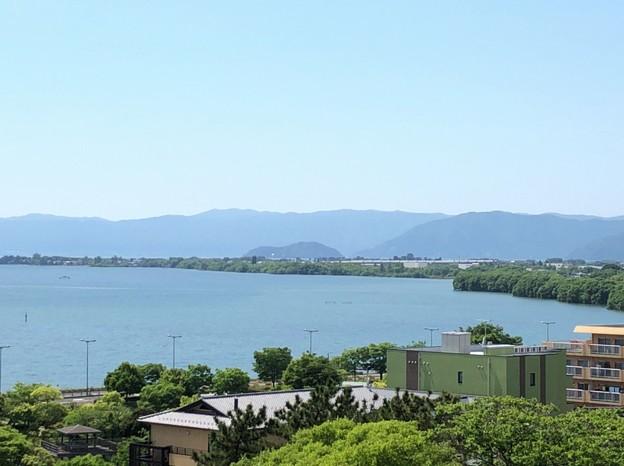 Photos: 長浜城(長浜市)模擬天守より北西
