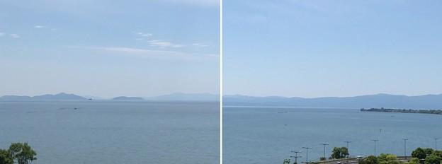 Photos: 長浜城(長浜市)模擬天守より西
