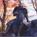 03.11.26.賤ヶ岳古戦場(長浜市)武者の像