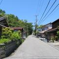 石田三成屋敷跡(彦根市)偽屋敷方向