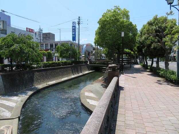 大垣城(岐阜県大垣市)外堀跡