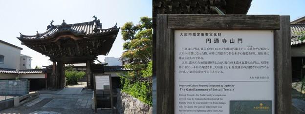 円通寺(大垣市)山門