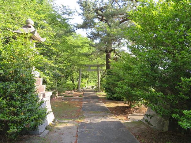 曽根城(大垣市)二の丸/曽根大神社