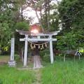 写真: 杭瀬川合戦 推定地(大垣市)日吉神社