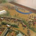 写真: 杭瀬川合戦ジオラマ(大垣市営 大垣城)