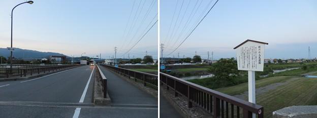 垂井宿(不破郡垂井町)東見付・相川の人足渡跡