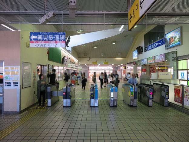 大垣駅改札内(岐阜県)