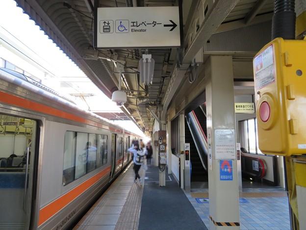 大垣駅(岐阜県)東海道線ホーム