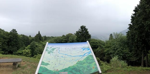 関ヶ原合戦 毛利秀元陣跡(垂井町)より東~南東