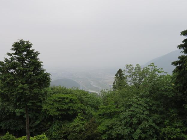 関ヶ原合戦 毛利秀元陣跡(垂井町)より南東