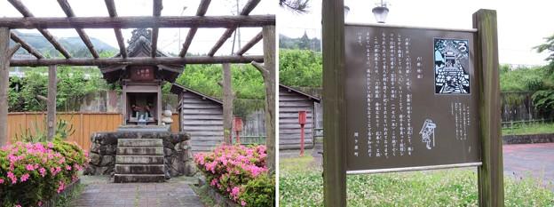 旧中山道松並木 六部地蔵(関ケ原町)